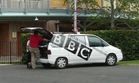 Local BBC Radio car