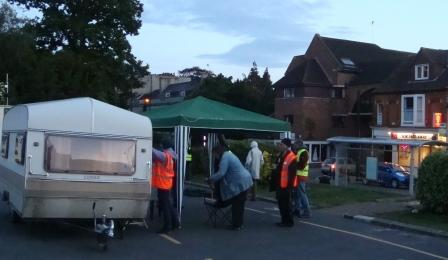 Frome Coffee Van and Gazebo