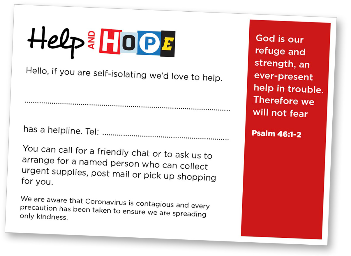 Help-and-Hope-Card
