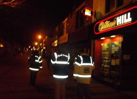 Street Angels patrol