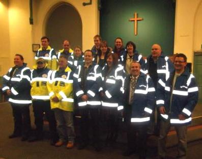 Street Angels team at the commissioning