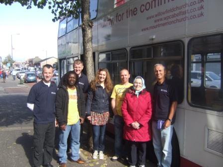 Hope bus team, Belfast