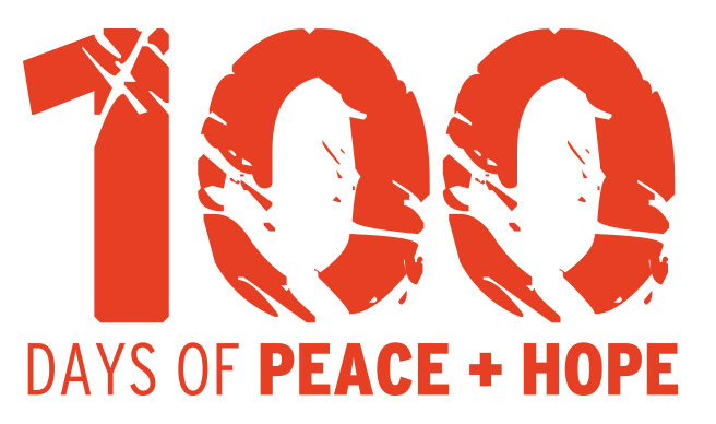 100-Days-Peace-Hope-logo